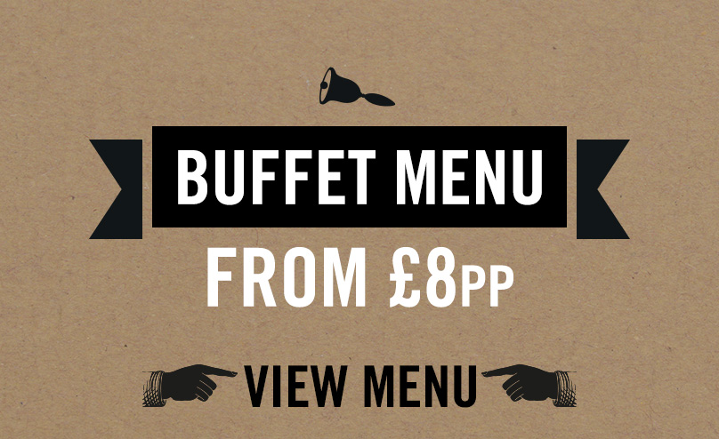 Festive buffet menu at Old Ball