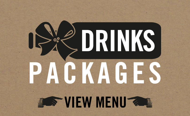 Drinks packages available at Old Ball