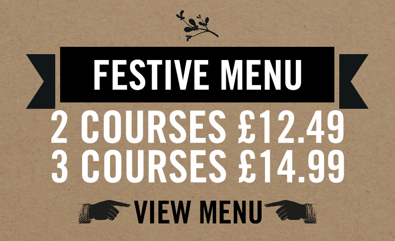 Festive Menu at Old Ball