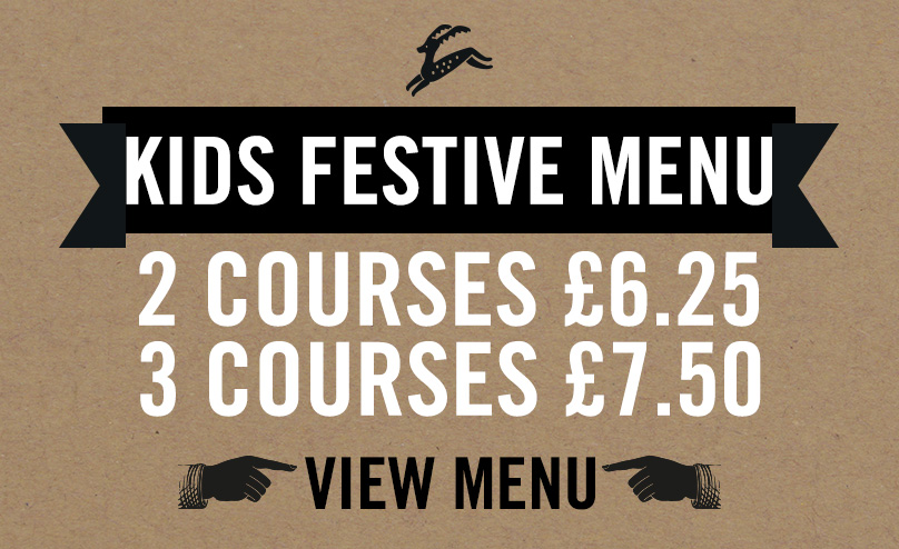 Kids Festive Menu at Old Ball