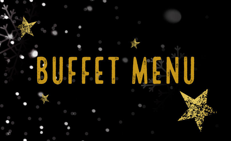 Festive buffet at Old Ball