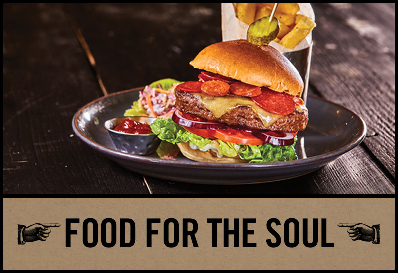 Food for the soul at Old Ball