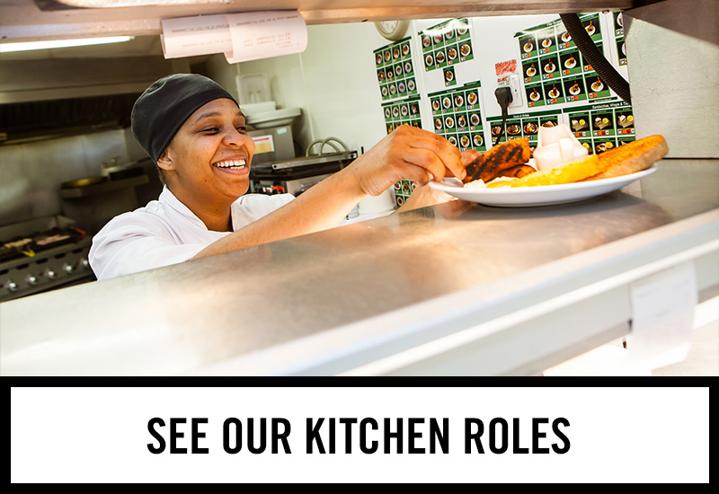 Kitchen roles at Old Ball